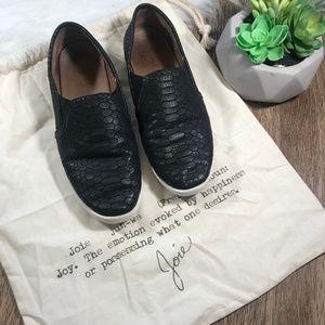 Joie Snake Print Slip On Sneaker Shoe